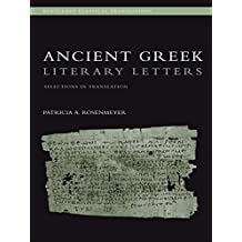 Ancient Greek Literary Letters: Selections in Translation (Routledge Classical Translations) (English Edition)
