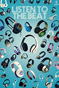 Empireposter - Musik - Listen to the Beat - Größe (cm), ca. 61x91,5 - Poster