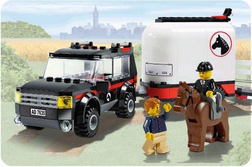 Imagen 4 de LEGO City 7635 - Transporte de caballos [versión en inglés]