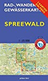 Rad-, Wander- und Gewässerkarten-Set: Spreewald: Mit den Karten: