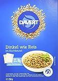 Davert Zart-Dinkel im Kochbeutel, 3er Pack (3 x 250 g) - Bio