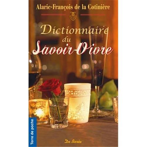 Dictionnaire du Savoir-Vivre