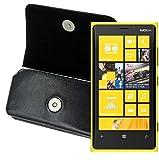 MTT Quertasche für das Nokia Lumia 1020 mit Gürtelclip und Sicherheitschlaufe schwarz