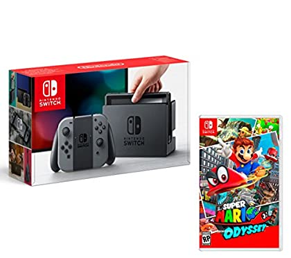 Nintendo Switch Consola 32Gb Gris + Super Mario...