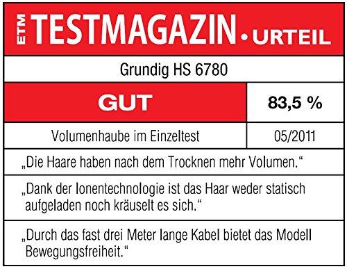 Grundig HS 6780 Ionen-Volumenhaube (600 Watt)