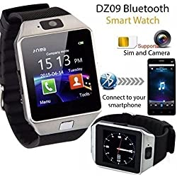 GKP Products ® Android/Ios Mobile Wrist Watch Phone Compatible With All Models Ceritfied Sw Bluetooth Smart Watch Phone With Camera And Sim Card Support With Apps Like Facebook And Whatsapp