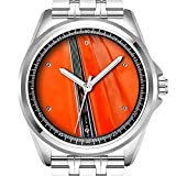 Personalisierte Herrenuhr Mode wasserdicht Uhr Armbanduhr Diamant 452.Dodge Dart Uhr