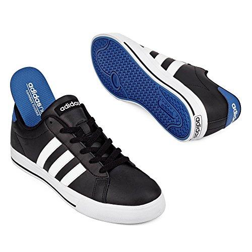 adidas B74479, Chaussures de sport mixte adulte Plusieurs couleurs (bleu roi / noir / blanc)