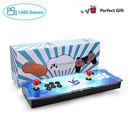 GroGoo Spmywin 720P Full HD Real Pandora's Box 5S Arcade Videogiochi Console 1500 Retro Games Arcade Console Video Gamepad Pulsanti Personalizzati Elenco Smart