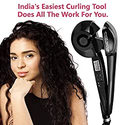 Jewelscart Easy Curler Pro with LCD Display and Ceramide Advantage For Less Damage