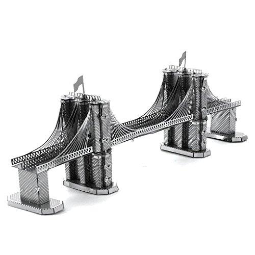 Fascinations Metal Earth - Maqueta metálica Puente de Brooklyn