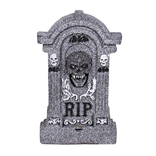 SUPVOX Halloween Grabsteine ??künstliche Grabsteine ??Grab Hof Dekoration