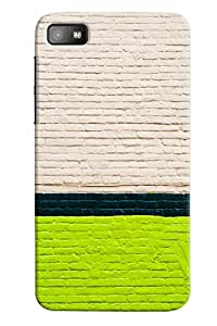 Omnam Pattern Made Of Coloful Bricks Printed Designer Back Cover Case For BlackBerry Z10