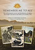 'Remember Me to All': The archaeological recovery and identification of soldiers who fought and died in the battle of Fromelles 1916 (Oxford Archaeology Monograph)