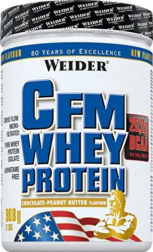 Weider CFM Whey Protein, Chocolate, Mantequilla de Maní - 908 gr