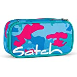Satch Schlamperbox Caribic Camou 9D9 blau pink camouflage