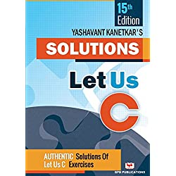 LET US C SOLUTIONS - 15TH EDITION