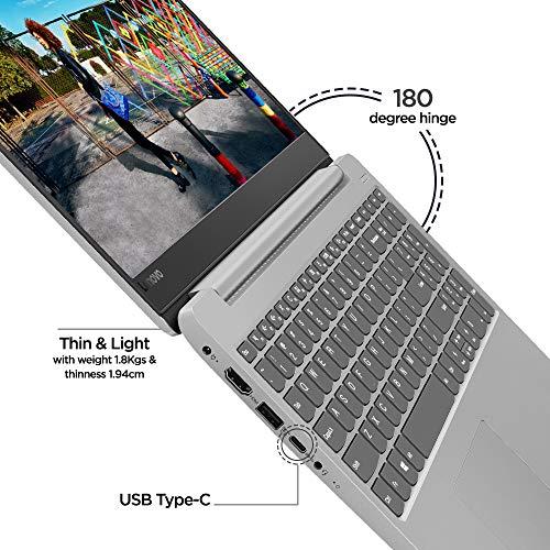Lenovo ideapad 330S 81F5002PIN 15.6-inch Laptop (Core i3-7020U/4GB/1TB/Windows 10 Home/Integrated Graphics), Platinum Grey