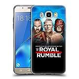 Head Case Designs Offizielle WWE Braun, Brock & Kane 2018 Royal Rumble Soft Gel Hülle für Samsung Galaxy J5 (2016)