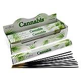 Stamford Räucherstäbchen Cannabis (20 Sticks x 6 Packungen)