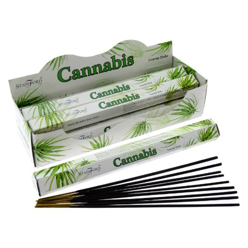 Preisvergleich Produktbild Stamford Räucherstäbchen Cannabis (20 Sticks x 6 Packungen)