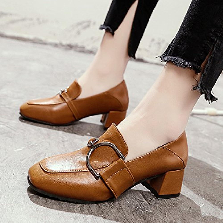 gaolim chaussures chaussures chaussures femme unique printemps tête carrée rugueux et grossier, et chaussures chaussures chaussures femmes b07c3tpycj parent | Sale Online  b69603
