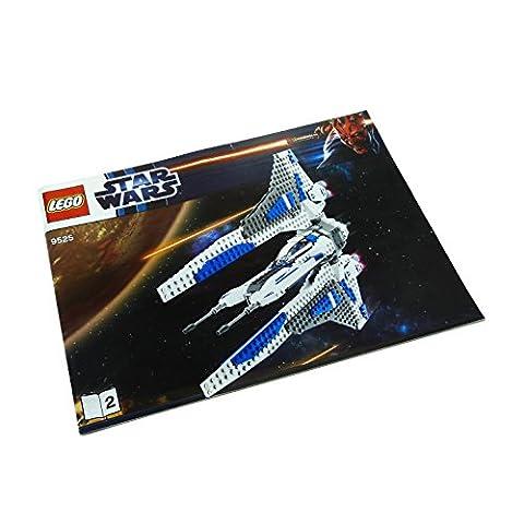 1 x Lego System Bauanleitung Nr 2 für Set Star Wars Clone Wars Pre Vizsla's Mandalorian Fighter