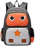 Kinder Rucksack Daypacks Schultasche Wütender Vogel Rucksäcke Angry Bird Roboter Kinderrucksack Kindergartentasche für 5-10 Jährige Jungen und Mädchen im Kindergarten