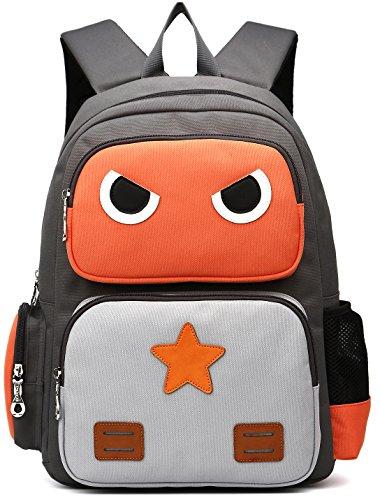 DCCN Kinderrucksack für 5-10 Jährige 15L Kinder Daypack Schultasche Jungen und Mädchen Schulrucksack Schulranzen 40 * 30 * 10cm