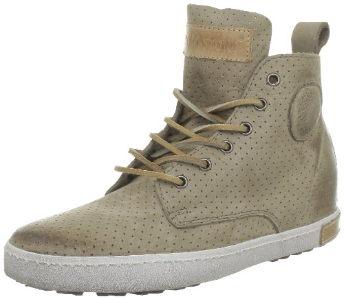 Blackstone Perforated High, Baskets mode femmes Beige (Taupe)