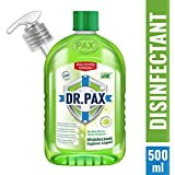 DR. PAX Double Power Multipurpose Disinfectant Hygiene Liquid, 500 ml (Refreshing Lime)