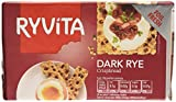 Ryvita Dark Rye Crispbread 250 g (Pack of 16)
