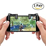 #2: Royalfy Mobile Game Controller, Sensitive Shoot and Aim Buttons L1&R1 for PUBG/Fortnite/Rules of Survial, Cell Phone Gams of Survial, Cell Phone Game Controller for Android IOS(1 Pair)
