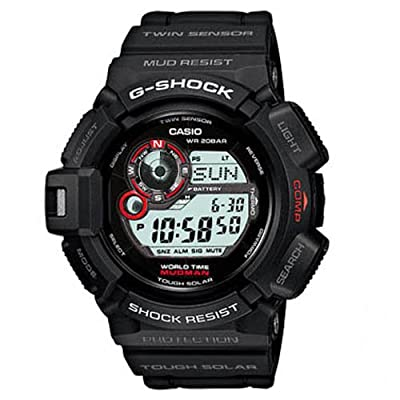 G-Shock G-9300-1ER - Reloj digital de caballero de cuarzo con correa negra de Casio