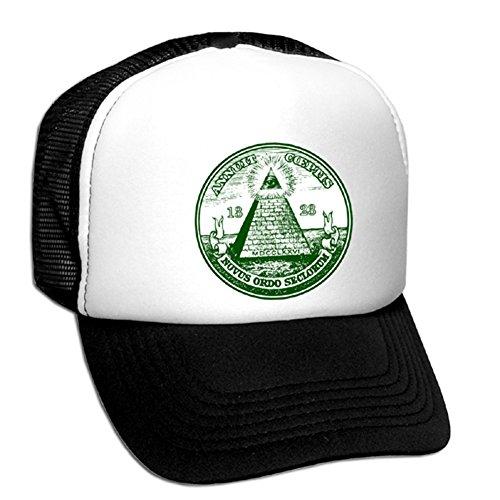 Tedd Haze Mesh Cap - Freimaurer & Illuminati 23