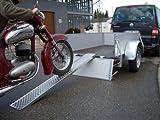 Motorradschiene Alu 2m, Auffahrschiene
