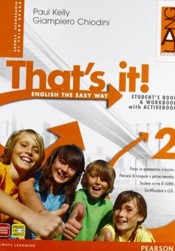 That's it! Extrabook. Per la Scuola media. Con espansione online: 2