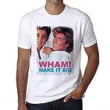Photo de One in the City George Michael Wham! Regent Tshirt, George Michael, Hommes Tshirt Cadeau par One in the City