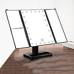 Miroir pliant à LED