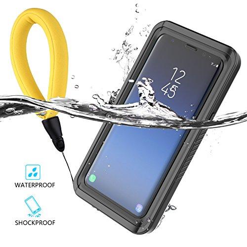 CASEWIN Samsung Galaxy S9 Wasserdicht Hülle, IP68 Extreme Durable 360 ° Schutz Ganzkörper Outdoor Wasserdicht Staubdicht Schneedicht Stoßfest Schutzhülle Tasche Bumper Cover Case mit Displayschutz -