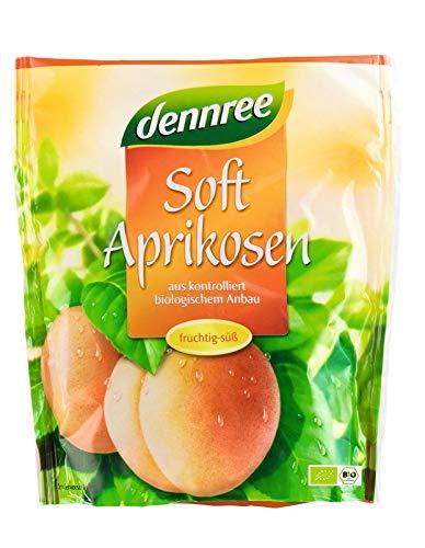 dennree Bio Soft-Aprikosen (6 x 200 gr) - Soft-aprikosen