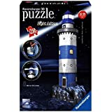Ravensburger - 12577 - Puzzle 3D Building - 216 Pièces - Phare - Night Edition