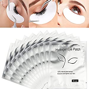 Ciglia Pad, 50pezzi professionale classica Shimmering gel benda sull' occhio ciglia Grafting Eyelash Pad per piantine innesto Eyelash Perm