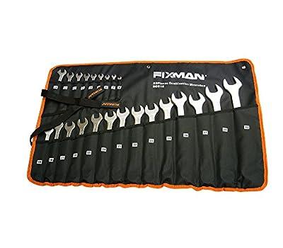 23 teilige Ringmaulschlüsseltasche 6-32, 23 teiliger Ringmaulschlüsselsatz mit Lagertasche von Fixman bei TapetenShop