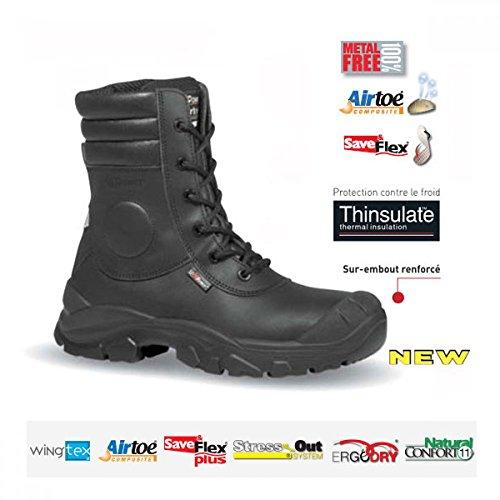 Chaussures rangers agent de sécurite Cougar UK - Upower S3 CI SRC Noir