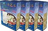 Shirataki PASTA - spaghetti, 4 x 390 grammi, shirataki konjac, senza glutine, forma di spaghetti 4 pack