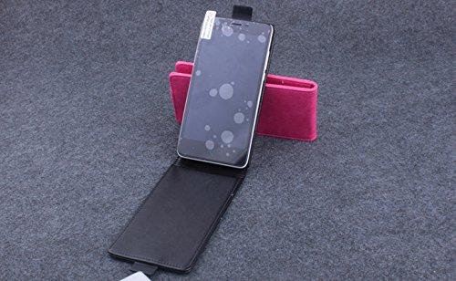 Baiwei Pu Leder Kunstleder Flip Cover Tasche Handyhülle Case für Elephone P6000 P6000 PRO Android 4.4 3G Smartphone Tasche Hülle Case Handytasche Handyhülle Etui