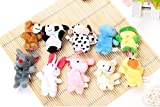 Anukriti Creations Set of 10 Animal Fing...