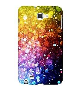 Fiobs Designer Back Case Cover for Samsung Galaxy Note N7000 :: Samsung Galaxy Note I9220 :: Samsung Galaxy Note 1 :: Samsung Galaxy Note Gt-N7000 (Colourful Pattern & Design)