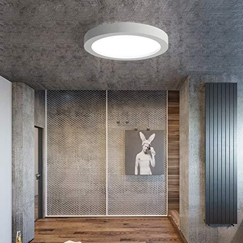 Deckenleuchte, LED, einfach, modern, kreativ, stufenlos, dimmbar, Acryl, Schwarz/Weiß, Dimmingwhite, 75x8.5cm